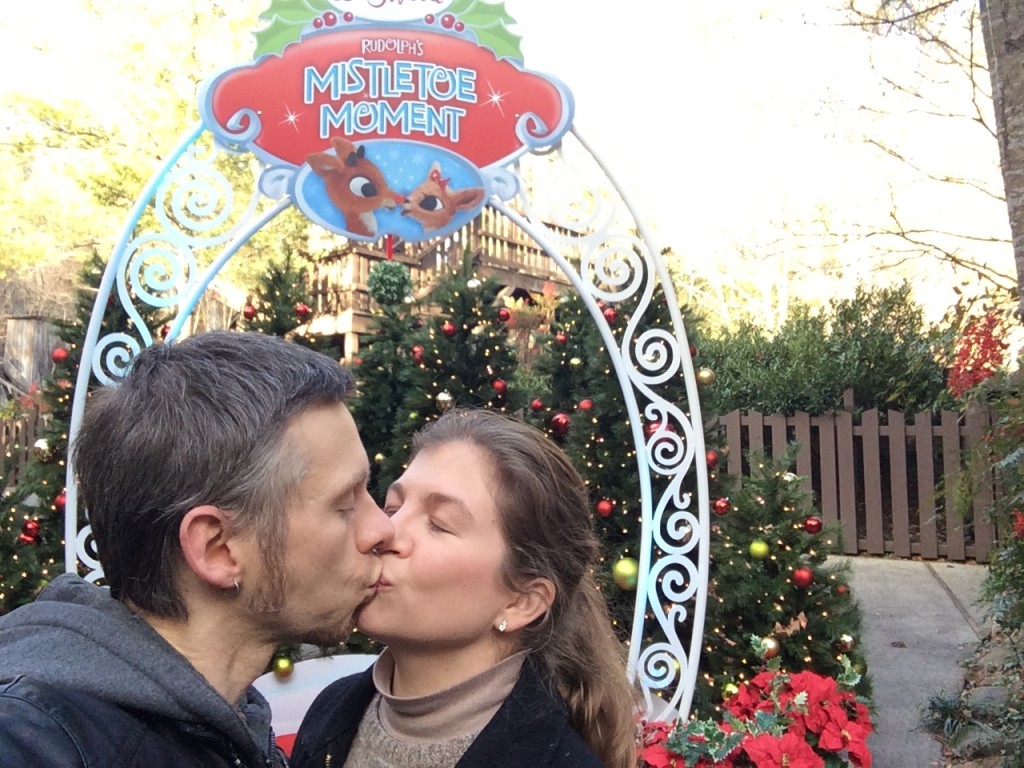 Foster-parents-kiss-christmas-holidays-adoption-tips-advice-harry-potter