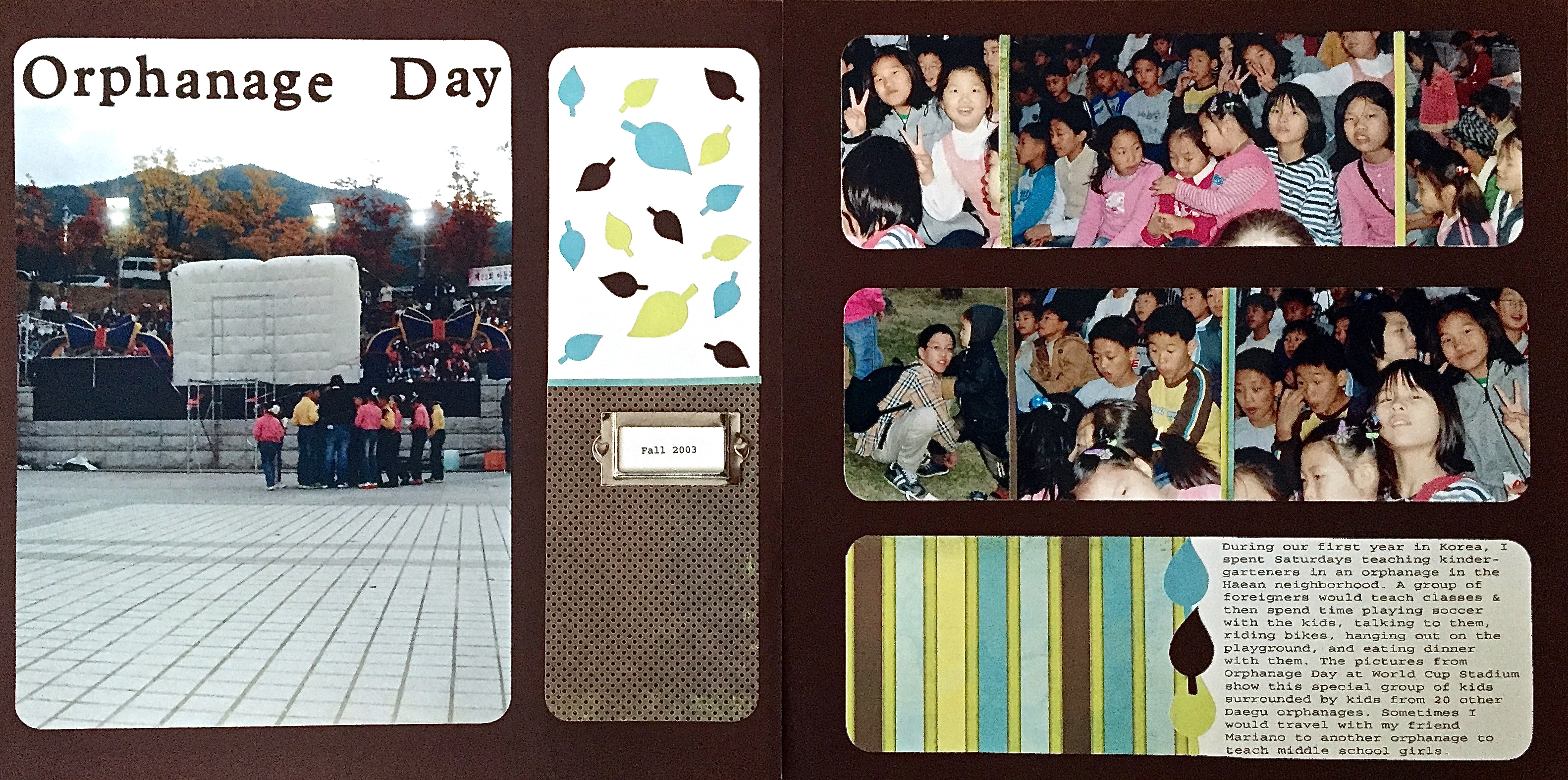 Daegu Orphanage Day