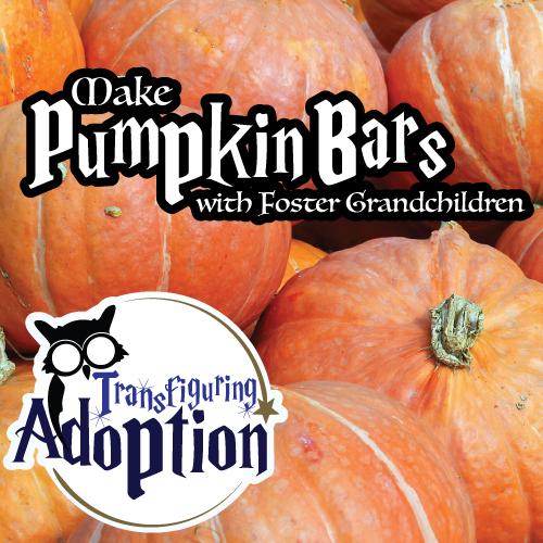 Make-pumpkin-bars-foster-grandchildren-recipe-pinterest