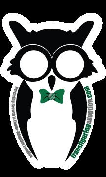 Owl Sticker - Boy (Green)
