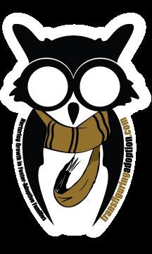 Owl Sticker - Boy (Yellow)