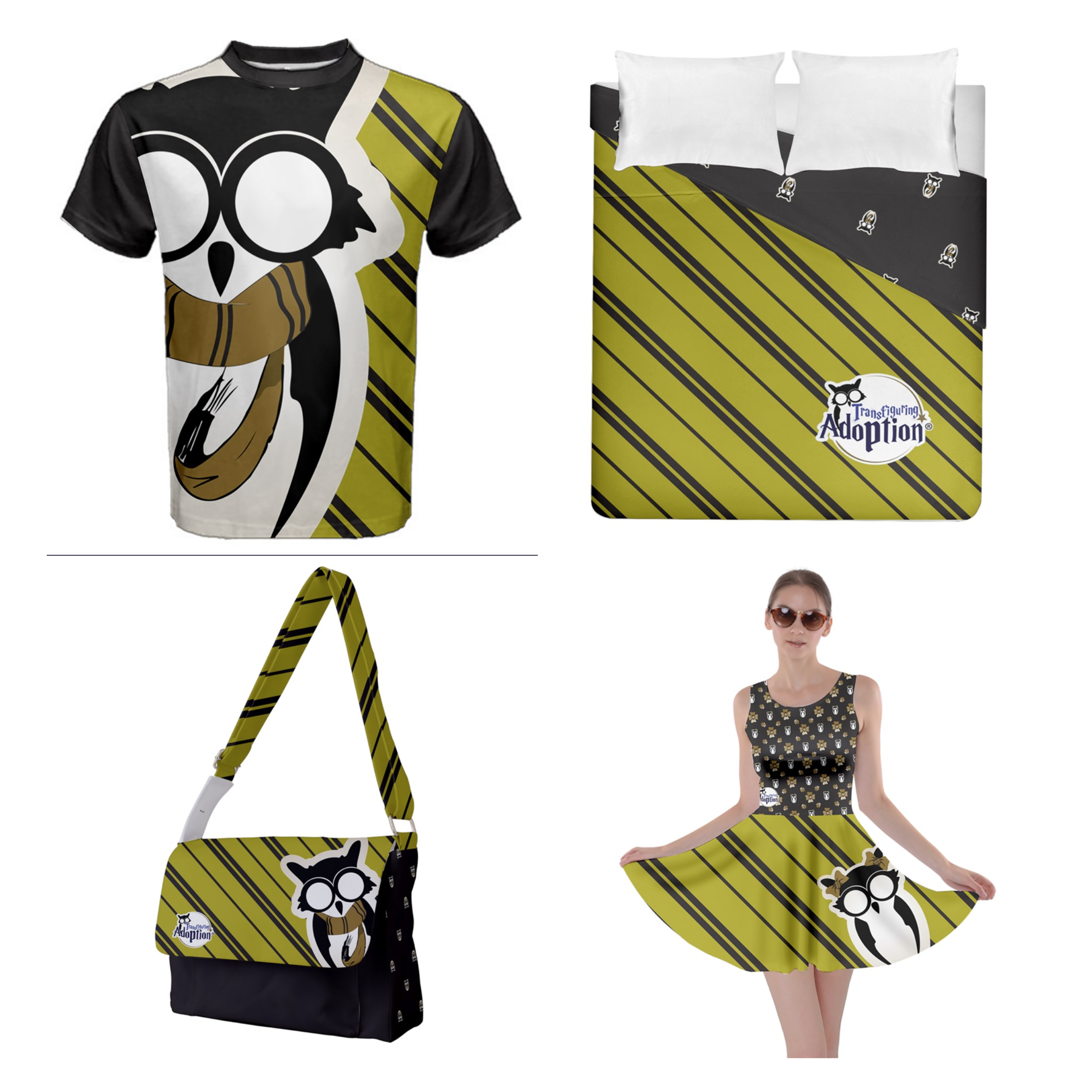Yellow/Black Designs - Inspired by Hufflepuff