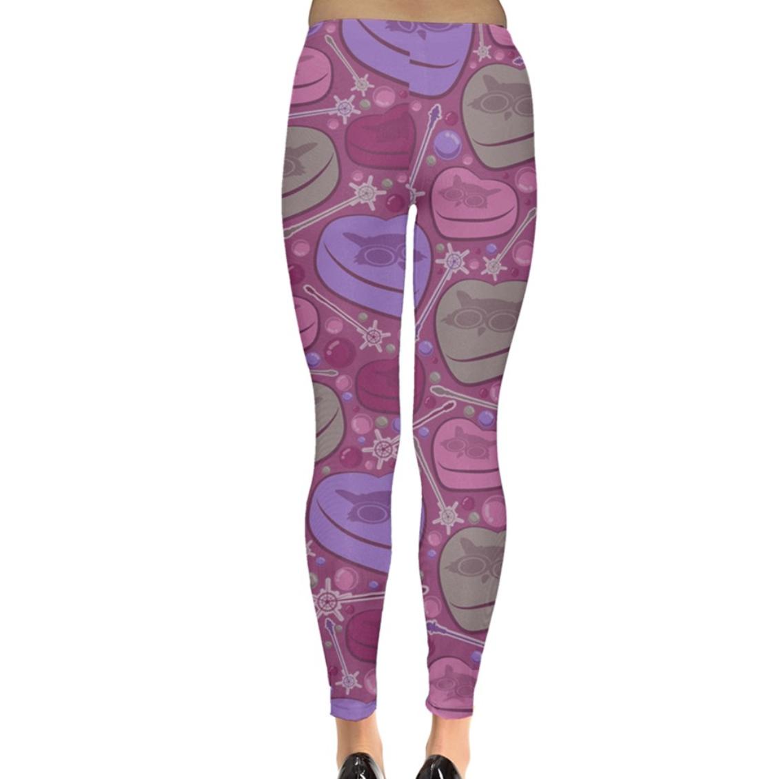 Charmed Leggings (Pink Patterned)