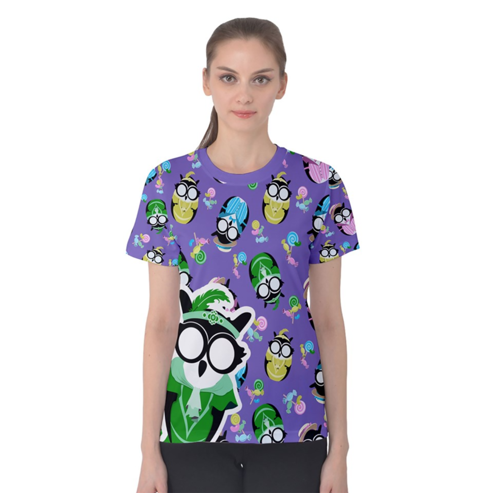 Easter Egg Women's Cotton Tee (Patterned)