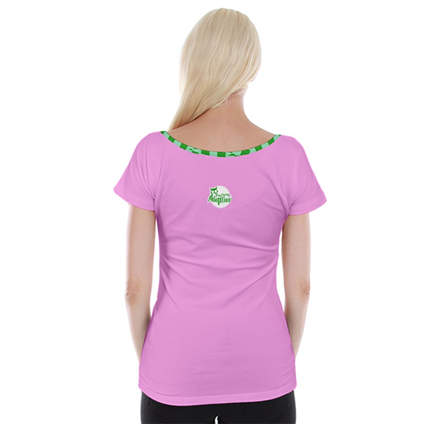 Candy Store Owl (large owl) Cap Sleeve Top