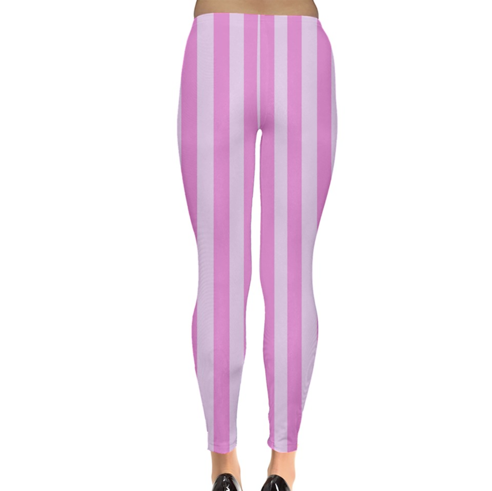 Candy Store Leggings (Pink Stripes)