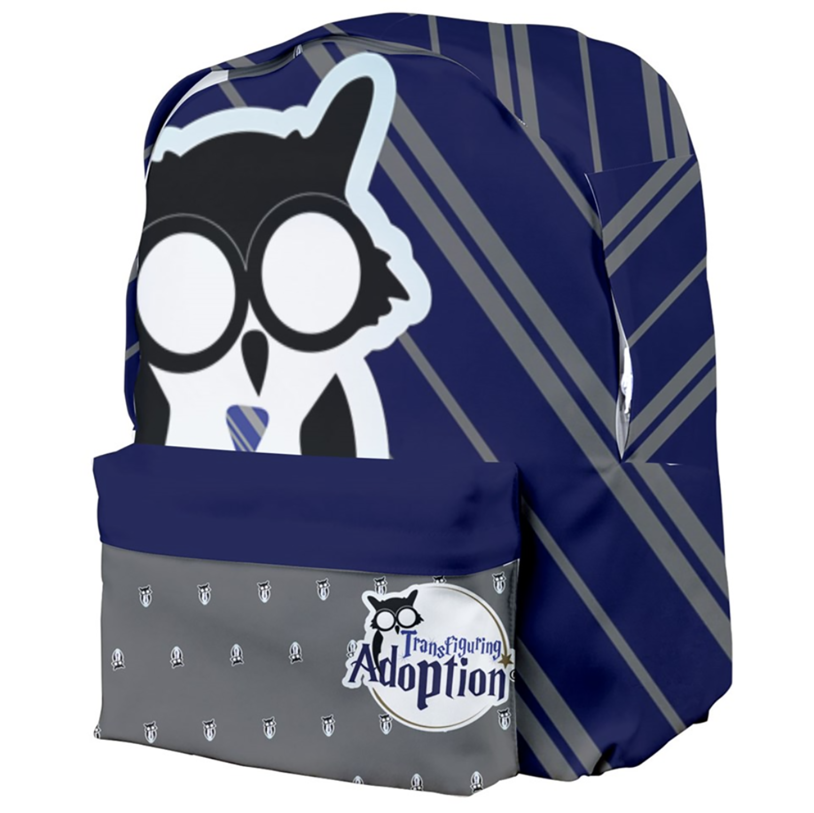 Blue & Gray Giant Backpack - Inspired by Ravenclaw