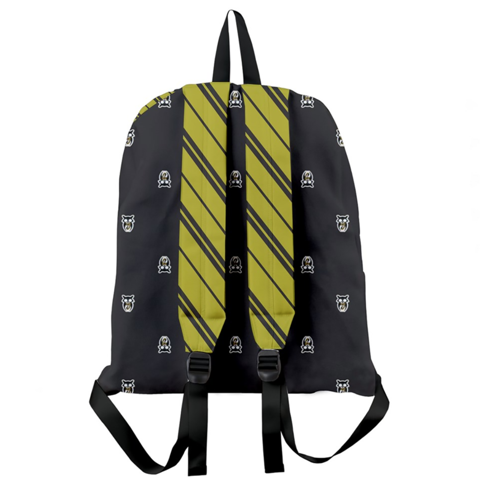 Yellow & Black Giant Backpack - Inspired by Hufflepuff