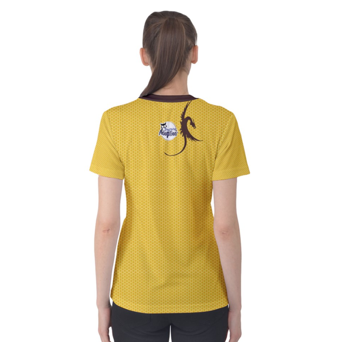 """See The """"TRUE"""" Child (Yellow) Women's Cotton Tee - Inspired by Literary Character, Hagrid"""