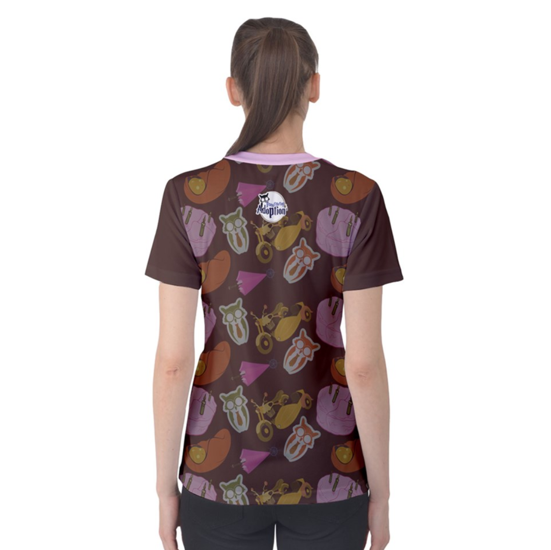 """See The """"TRUE"""" Child (Patterned) Women's Cotton Tee - Inspired by Literary Character, Hagrid"""