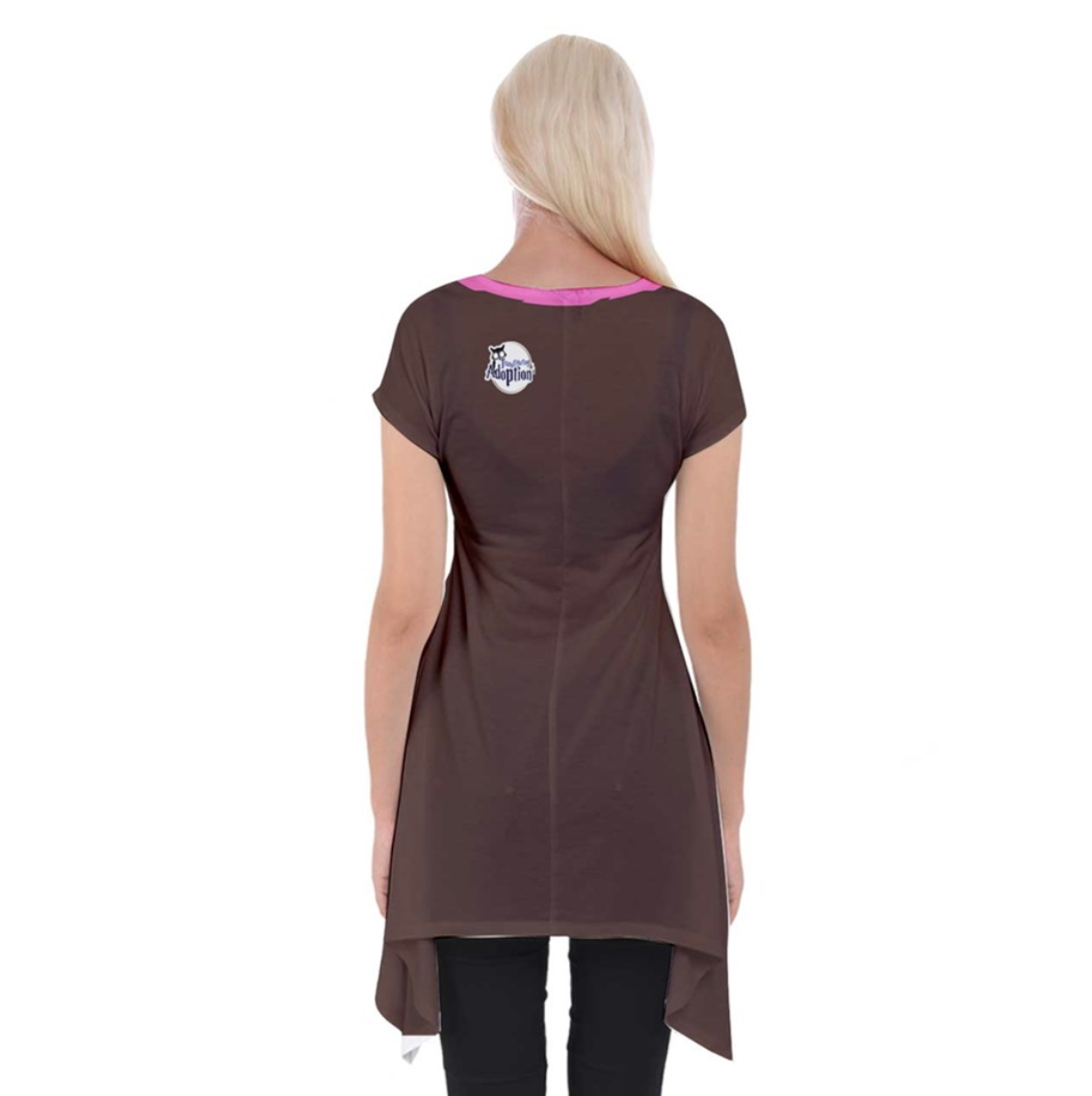 """See The """"TRUE"""" Child Short Sleeve Side Drop Tunic - Inspired by Literary Character, Hagrid"""