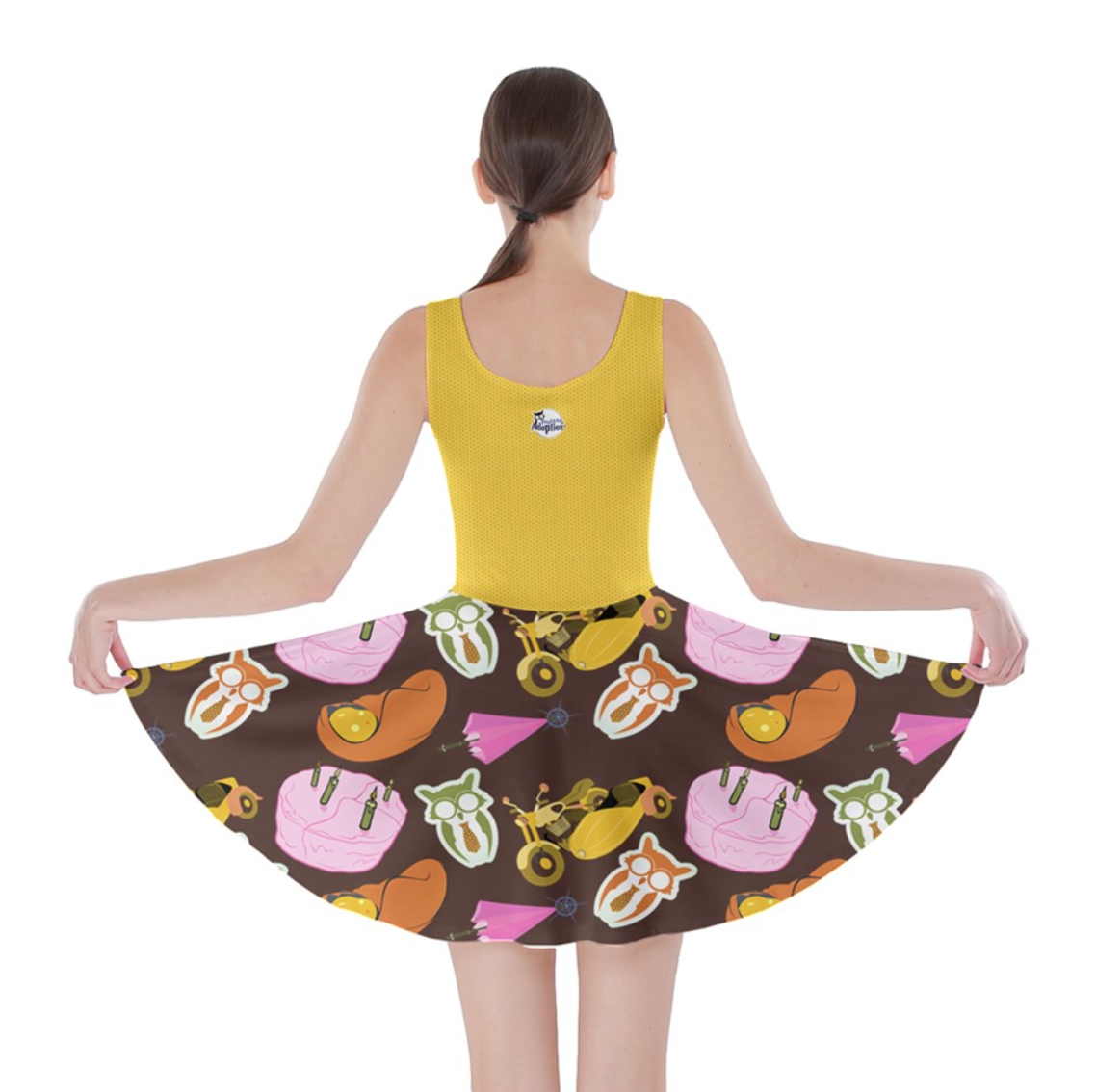 """See The """"TRUE"""" Child Skater Dress (yellow) - Inspired by Literary Character, Hagrid"""