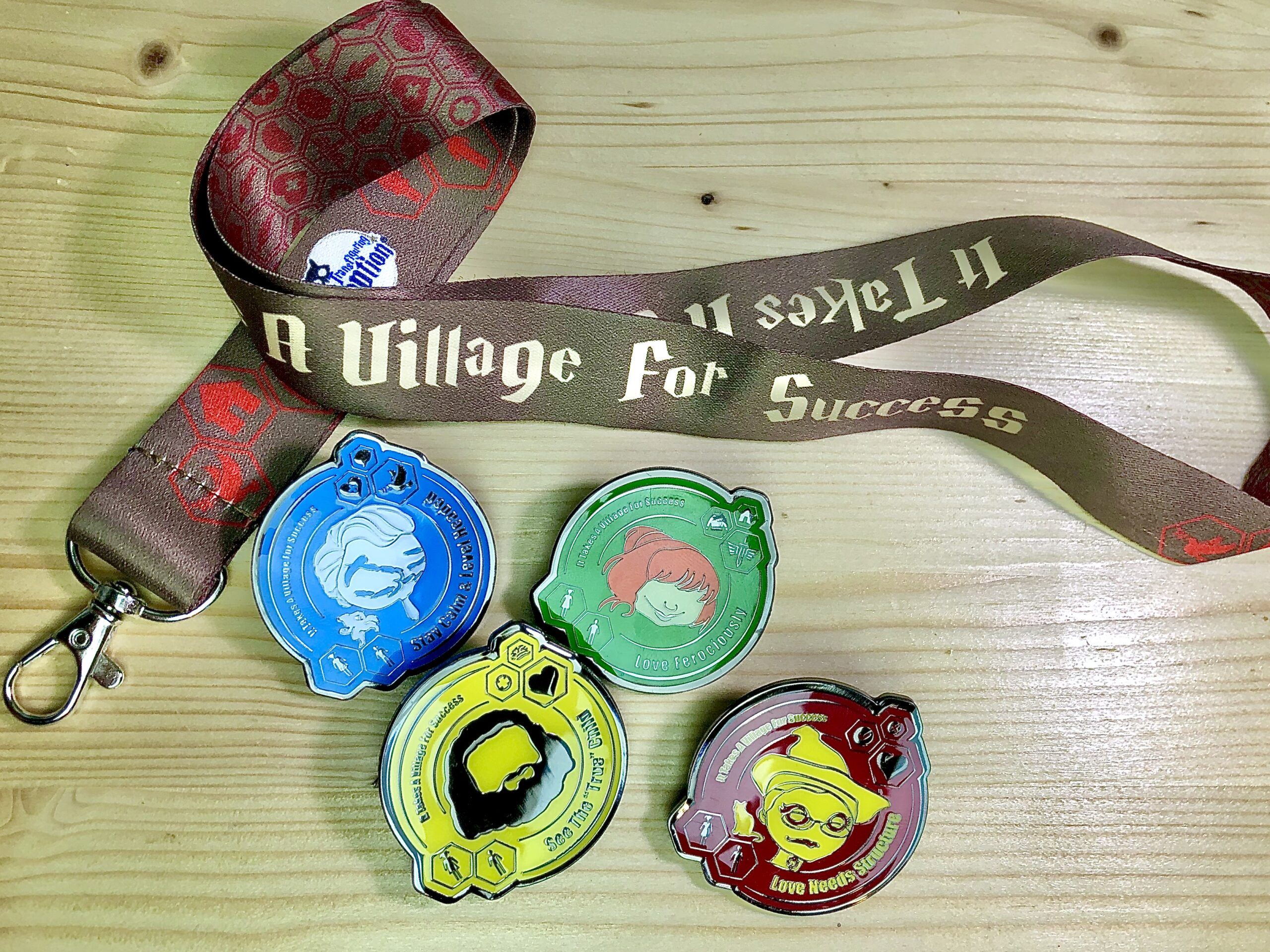 """""""It Takes A Village For Success"""" Collector Set"""