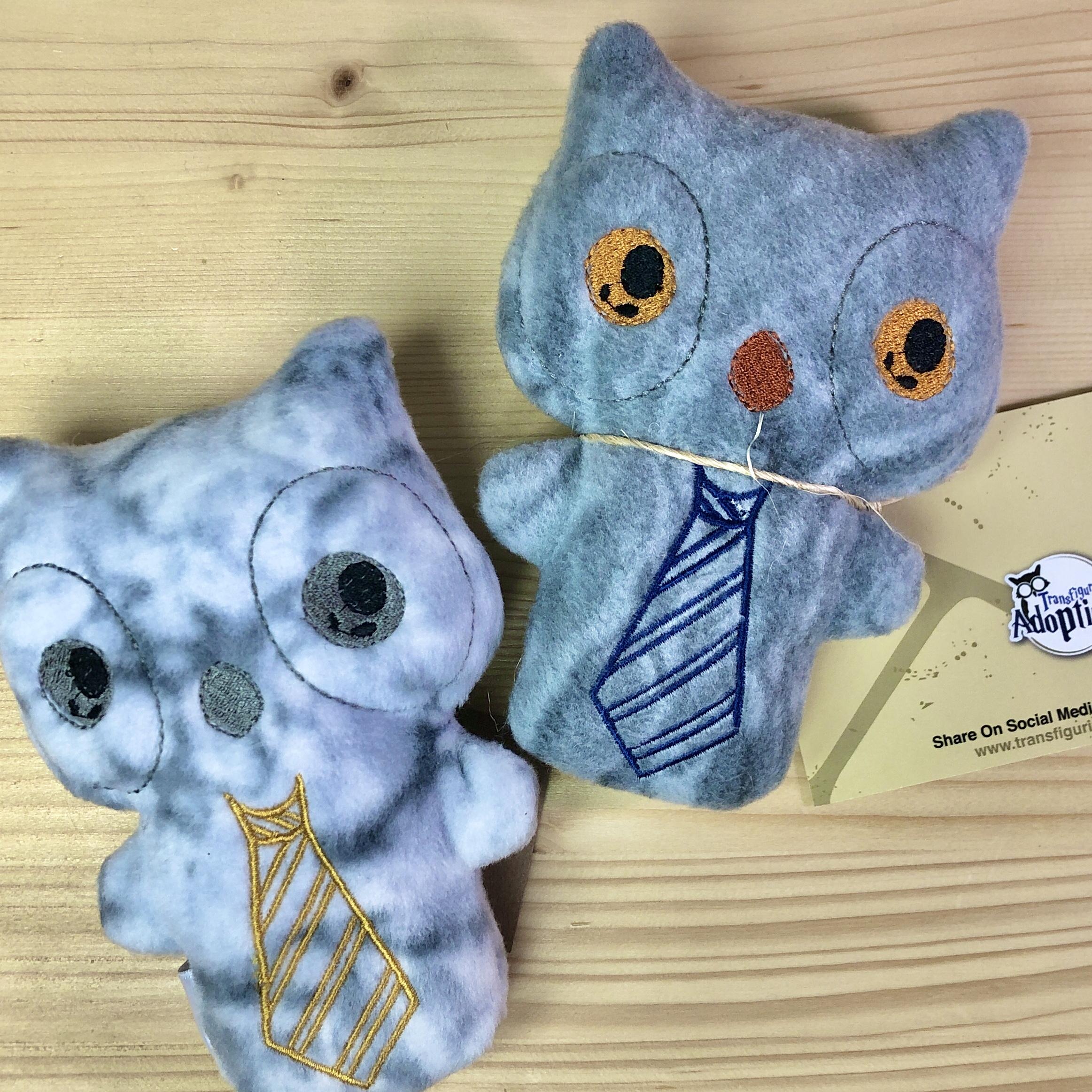Stuffed Owl Plushie: Adopt A Family
